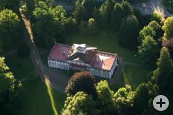 Luftbild von Schloss Hohenzollern - Bildrechteinhaber Norbert Blau