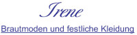 Logo Brautmoden Irene